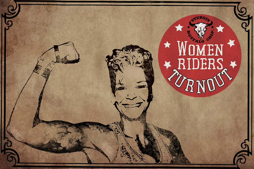 Women Riders Turnout