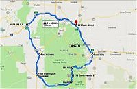 Black Hills Motorcycle Rides, the Minor Loop