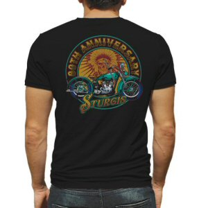 A. Sturgis.com 80th Anniversary Motorcycle Rally T-Shirt.